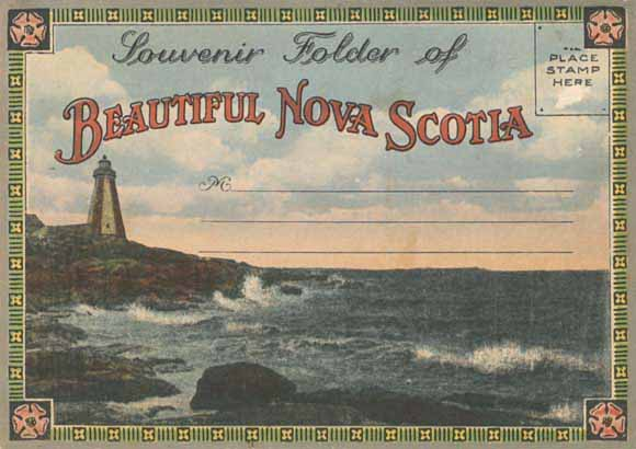 Souvenir Folder of Beautiful Nova Scotia